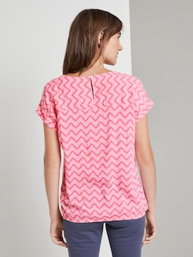 Bluse mit Alloverprint - 2 - TOM TAILOR