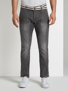 Josh Regular Slim Chino-Jeanshose - 1 - TOM TAILOR