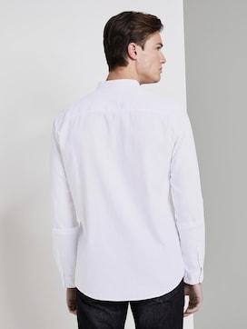 Overhemd met structuur en opstaande kraag - 2 - TOM TAILOR Denim