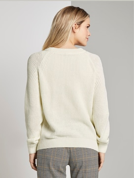Sweatshirt met textuur - 2 - TOM TAILOR