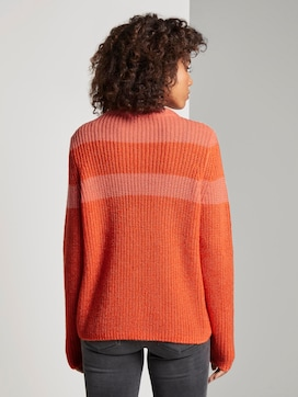 Pullover in Ripp-Optik - 2 - TOM TAILOR