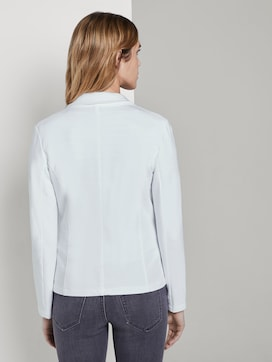 Sweat blazer with a colour wash - 2 - TOM TAILOR