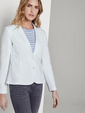 Sweat blazer with a colour wash - 5 - TOM TAILOR