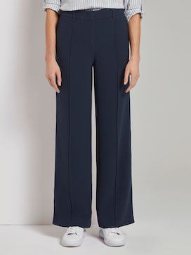 Lea straight trousers with crease - 1 - TOM TAILOR