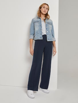 Lea straight trousers with crease - 3 - TOM TAILOR