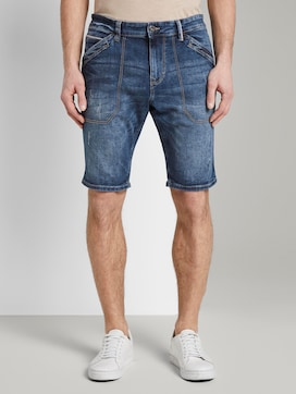 Josh Regular Slim Jeans-Bermuda-Shorts - 1 - TOM TAILOR