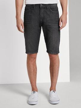 Josh Regular Slim Jeans-Shorts in Vintage-Waschung - 1 - TOM TAILOR