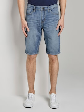 Josh Regular Slim Jeans-Shorts in Vintage-Waschung - 1 - TOM TAILOR