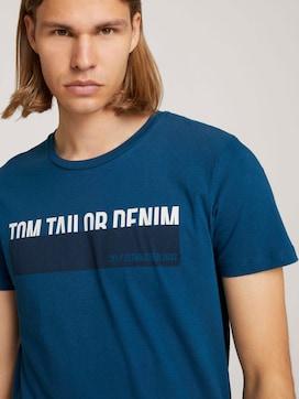 T-shirt met print - 5 - TOM TAILOR Denim