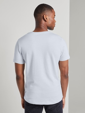 Structured T-shirt - 2 - TOM TAILOR Denim