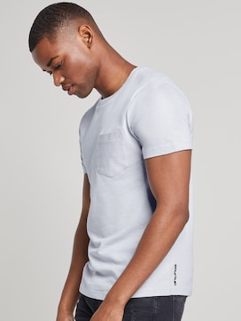 Structured T-shirt - 5 - TOM TAILOR Denim