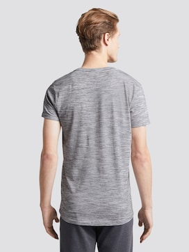 T-Shirt mit schlichtem Print - 2 - TOM TAILOR Denim