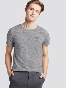 T-Shirt mit schlichtem Print - 5 - TOM TAILOR Denim