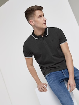 Strukturiertes Poloshirt - 5 - TOM TAILOR Denim