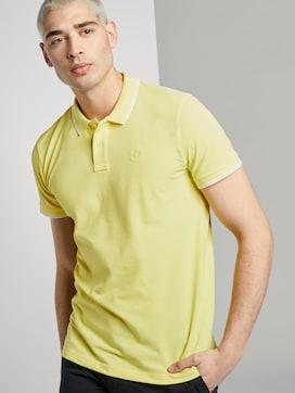Textured polo shirt - 5 - TOM TAILOR Denim