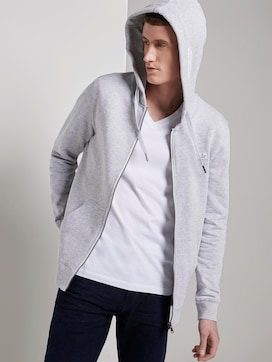 Sweatshirt Jas met hoodie - 5 - TOM TAILOR Denim