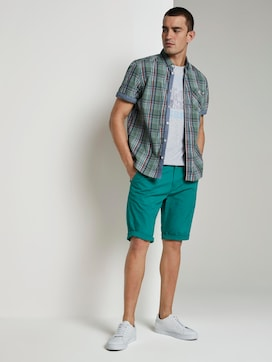Josh Regular Slim Chino-Shorts - 3 - TOM TAILOR