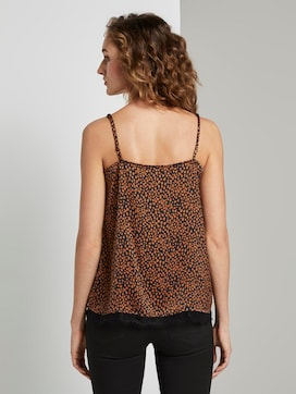 Camisole top with lace detail - 2 - TOM TAILOR Denim