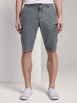 Cargo Bermuda-Shorts im Washed-Look  - 1 - TOM TAILOR
