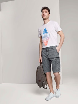 Cargo Bermuda-Shorts im Washed-Look - 3 - TOM TAILOR
