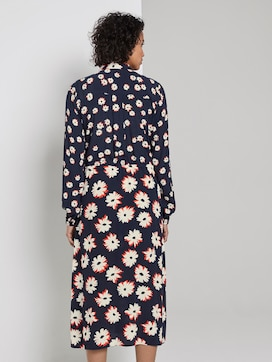 floral print dress - 2 - Tom Tailor E-Shop Kollektion
