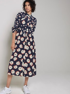 floral print dress - 5 - Tom Tailor E-Shop Kollektion