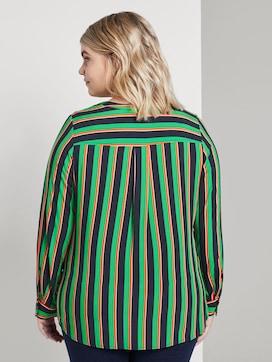 Bluse aus Viskose mit V-Ausschnitt - 2 - Tom Tailor E-Shop Kollektion