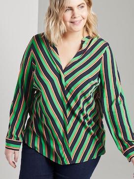 Bluse aus Viskose mit V-Ausschnitt - 5 - Tom Tailor E-Shop Kollektion