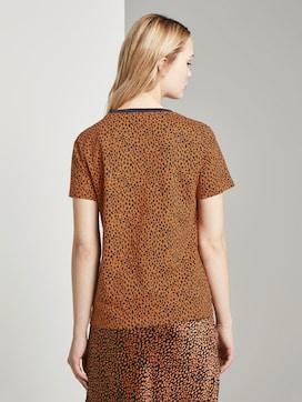 T-shirt with Leo print - 2 - TOM TAILOR Denim