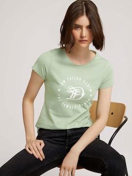 Jersey T-shirt met print - 5 - TOM TAILOR Denim