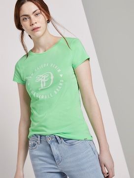 Jersey T-shirt with a print - 5 - TOM TAILOR Denim