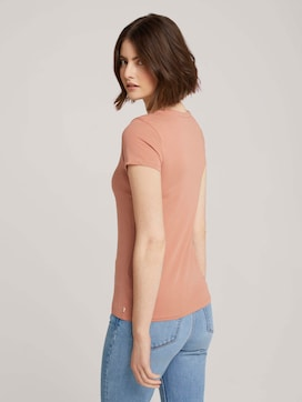 Jersey T-Shirt aus Bio-Baumwolle - 2 - TOM TAILOR Denim
