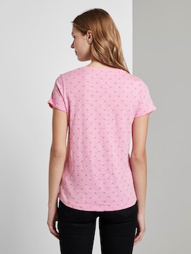 T-shirt with an all-over logo print - 2 - TOM TAILOR Denim