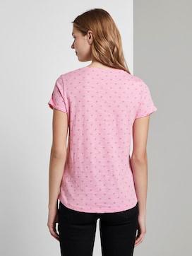 T-shirt met allover logo print - 2 - TOM TAILOR Denim