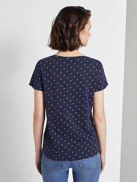 T-Shirt mit Allover Logo-Print - 2 - TOM TAILOR Denim
