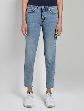Stone wash slim jeans - 1 - Mine to five