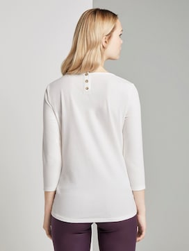 3/4 Arm Shirt - 2 - TOM TAILOR Denim