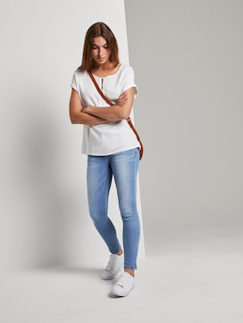Alexa Skinny Contour Jeans in Ankle-Länge - 3 - TOM TAILOR
