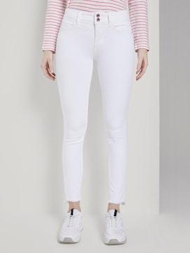 Alexa Skinny Jeans mit Fransen - 1 - TOM TAILOR