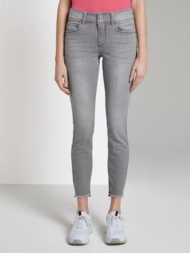 Alexa Skinny Jeans met franjes - 1 - TOM TAILOR