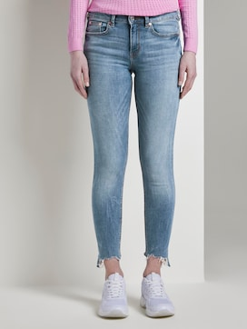 Jona extra skinny jeans with fringes - 1 - TOM TAILOR Denim