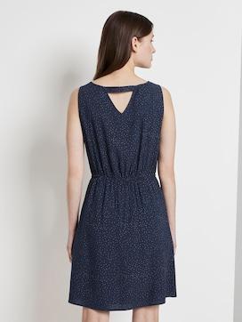 Kurzes Kleid mit Punkten - 2 - TOM TAILOR Denim