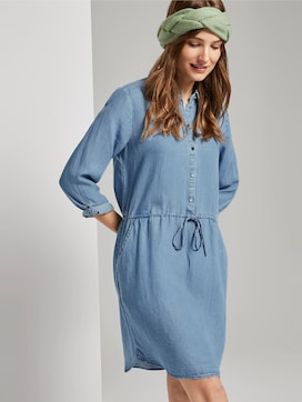 Mini Shirt Jurk - 5 - TOM TAILOR Denim