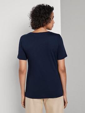 T-Shirt mit Schrift-Print - 2 - Mine to five