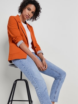 Feiner Crêpe Blazer - 5 - Mine to five