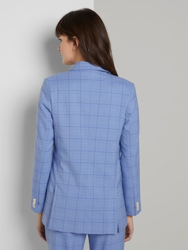 Double-breasted checked blazer - 2 - Tom Tailor E-Shop Kollektion