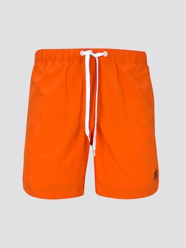 Swimming trunks with slanted pockets - 7 - TOM TAILOR