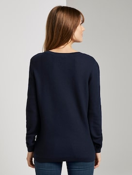 Gestrickter Basic-Pullover - 2 - TOM TAILOR Denim
