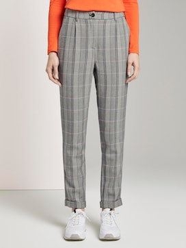 patterned trousers - 1 - TOM TAILOR