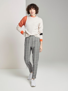 patterned trousers - 3 - TOM TAILOR